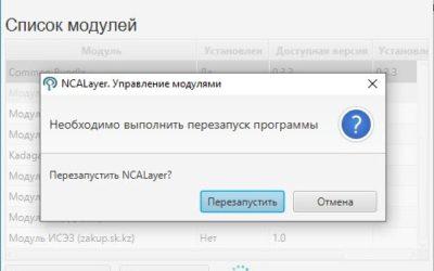 NCALayer 1.1 последняя версия