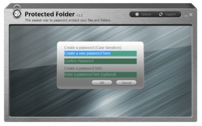 Protected Folder v1.3 + ключик активации